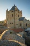 Abadía de Dormition, en Jerusalén Imagen de archivo