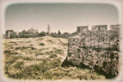 Abadía de Dormition en Jerusalén Imagenes de archivo