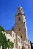 Abadía de Dormition, Jerusalén Fotos de archivo