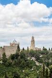 Abadía de Dormition, Jerusalén Imágenes de archivo libres de regalías