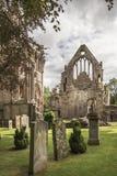 Abadía de Dryburgh en las fronteras escocesas Fotos de archivo
