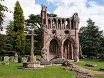 Abadía de Dryburgh, fronteras escocesas Fotos de archivo