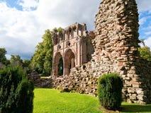 Abadía de Dryburgh, fronteras escocesas Fotos de archivo libres de regalías
