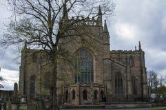 Abadía de Dunfermline Imágenes de archivo libres de regalías