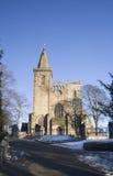 Abadía de Dunfermline en invierno Fotos de archivo libres de regalías