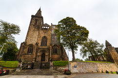 Abadía de Dunfermline, Escocia Foto de archivo