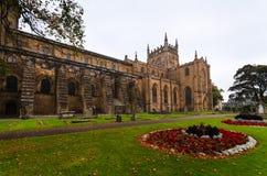 Abadía de Dunfermline, Escocia Foto de archivo libre de regalías