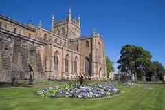 Abadía de Dunfermline, Escocia Imagen de archivo libre de regalías
