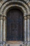 Abadía de Dunfermline, puerta principal Foto de archivo