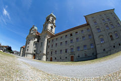 Abadía de Einsiedeln Foto de archivo