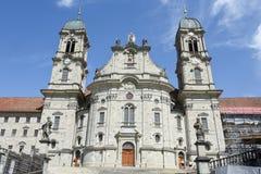Abadía de Einsiedeln en Suiza Foto de archivo