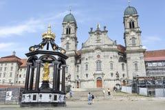 Abadía de Einsiedeln en Suiza Imágenes de archivo libres de regalías