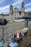 Abadía de Einsiedeln en Suiza Fotografía de archivo libre de regalías