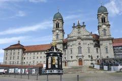 Abadía de Einsiedeln en Suiza Fotos de archivo