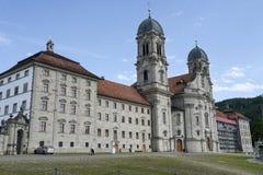 Abadía de Einsiedeln en Suiza Imagenes de archivo