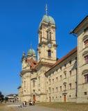 Abadía de Einsiedeln en Suiza Fotos de archivo libres de regalías