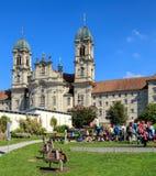 Abadía de Einsiedeln en Suiza Foto de archivo libre de regalías