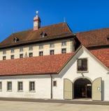 Abadía de Einsiedeln en Suiza Imagen de archivo