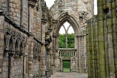 Abadía de Escocia Holyrood Foto de archivo