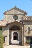 Abadía de Farfa Fotos de archivo libres de regalías