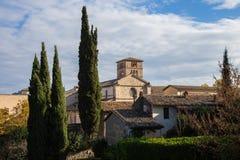 Abadía de Farfa Imagen de archivo libre de regalías