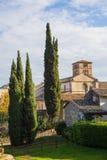 Abadía de Farfa Fotografía de archivo libre de regalías