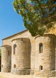 Abadía de Farneta en 1014 en Cortona, Toscana Fotos de archivo libres de regalías