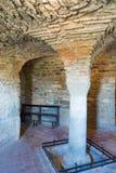 Abadía de Farneta en 1014 en Cortona, Toscana Fotografía de archivo