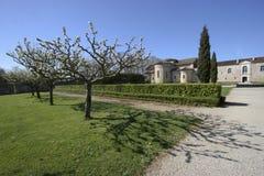 Abadía de Flaran y sus jardines Fotografía de archivo libre de regalías
