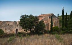 Abadía de Fontcaude Fotografía de archivo