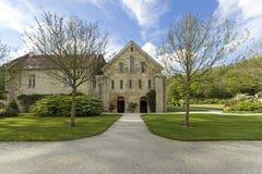 Abadía de Fontenay Foto de archivo libre de regalías