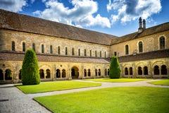 Abadía de Fontenay, Borgoña, Francia Imagen de archivo