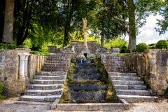 Abadía de Fontenay, Borgoña, Francia Fotografía de archivo libre de regalías