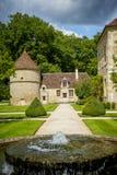 Abadía de Fontenay, Borgoña, Francia Imágenes de archivo libres de regalías