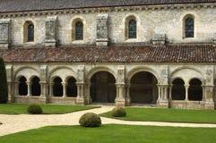 Abadía de Fontenay s Imágenes de archivo libres de regalías