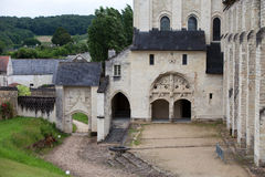 Abadía de Fontevraud Fotos de archivo