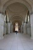 Abadía de Fontevraud Fotografía de archivo