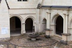 Abadía de Fontevraud Imagenes de archivo