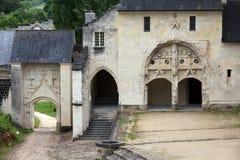 Abadía de Fontevraud Imagen de archivo
