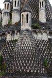Abadía de Fontevraud Foto de archivo libre de regalías