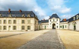 Abadía de Fontevraud Imágenes de archivo libres de regalías