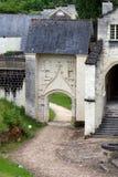 Abadía de Fontevraud - el valle del Loira Imagenes de archivo