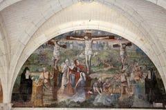 Abadía de Fontevraud - el valle del Loira Fotografía de archivo libre de regalías