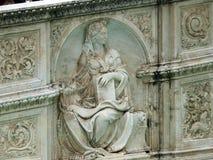 Abadía de Fontevraud - el valle del Loira Foto de archivo libre de regalías