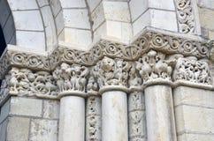 Abadía de Fontevraud - el valle del Loira Imágenes de archivo libres de regalías