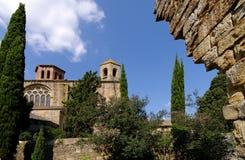 Abadía de Fontfroide Imagen de archivo libre de regalías