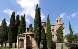 Abadía de Fontfroide Fotografía de archivo