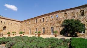Abadía de Fontfroide Imágenes de archivo libres de regalías