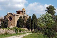 Abadía de Fontfroide Fotografía de archivo libre de regalías