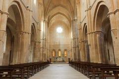 Abadía de Fossanova Imágenes de archivo libres de regalías